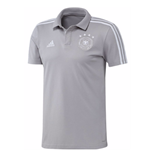 2018-2019 Germany Adidas Cotton Polo Shirt (Grey)