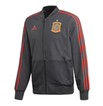 2018-2019 Spain Adidas Presentation Jacket (Solid Grey)