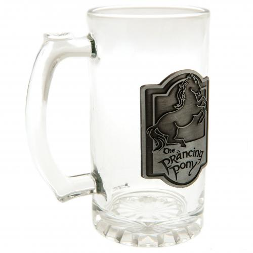 Lord Of The Rings Glass Tankard