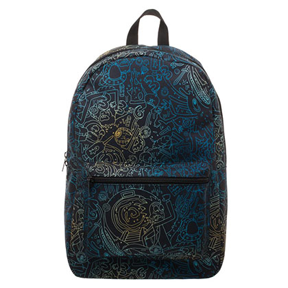 Rick And Morty Psycho All Over Print Backpack