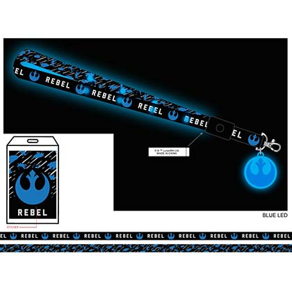 STAR WARS Rebel Light Up LED Lanyard