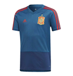 2018-2019 Spain Adidas Training Jersey (Blue) - Kids