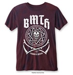 Bring Me The Horizon Men's Fashion Tee: Crooked Young (Burn Out)