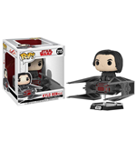 Star Wars Episode VIII POP! Vinyl Bobble-Head Kylo Ren on Tie Fighter 10 cm