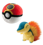 Pokemon Plush Figure Cyndaquil with Repeat Poke Ball 15 cm