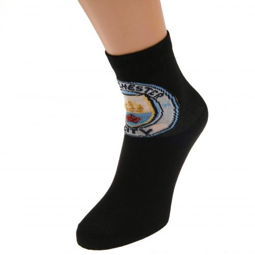 Manchester City F.C. Socks 1 Pack Junior 12.5-3.5