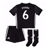 2017-18 Man Utd Away Mini Kit (Pogba 6)