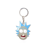 Rick & Morty Metal Keychain Rick Big Face 7 cm