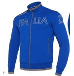 Italy Rugby Full-zip Sweatshirt
