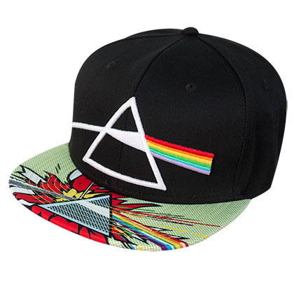 PINK FLOYD Snapback Dark Side of the Moon Hat