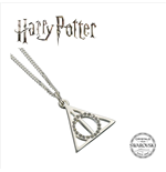Harry Potter x Swarovksi Necklace & Charm Deathly Hallows