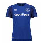 2017-2018 Everton Umbro Home Football Shirt