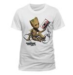 Guardians of the Galaxy T-shirt - Groot & Tape