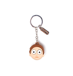 Rick & Morty - Morty Face 3D Rubber Keychain