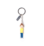 Rick & Morty - Morty 3D Rubber Keychain