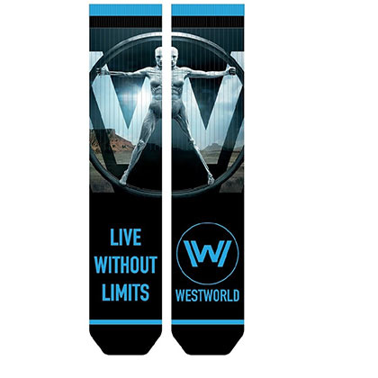 WESTWORLD Live Without Limits Socks