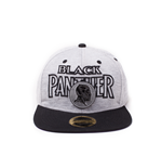 Black Panther - Metal Badge/Embroidery Snapback Cap