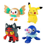 Pokemon Plush Figures 20 cm D18 Display (6)