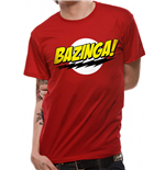 Big Bang Theory - Bazinga - Unisex T-shirt Red