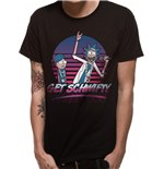 Rick And Morty - Get Schwifty Sunset - Unisex T-shirt Black
