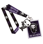 Nightmare Before Christmas POP! Lanyard with Rubber Keychain Jack Skellington