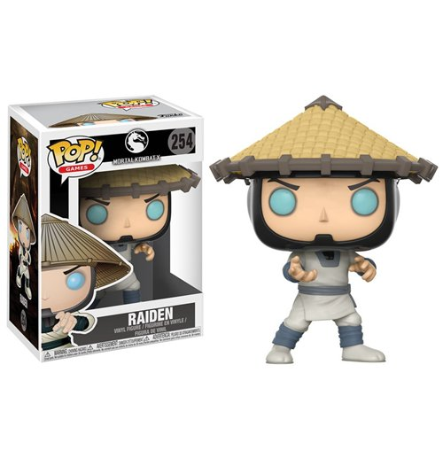 Mortal Kombat POP! Games Figure Raiden 9 cm