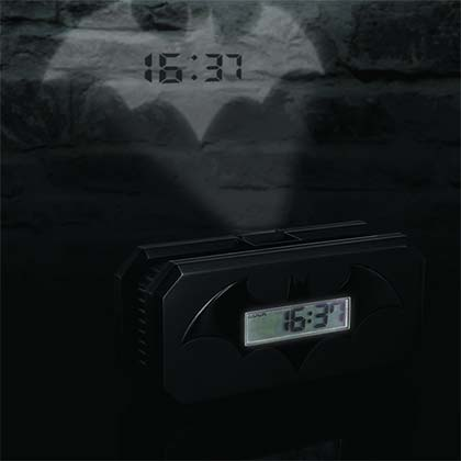 BATMAN Projector Alarm Clock