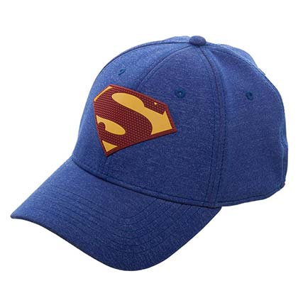 SUPERMAN New 52 Flex Fit Blue Hat