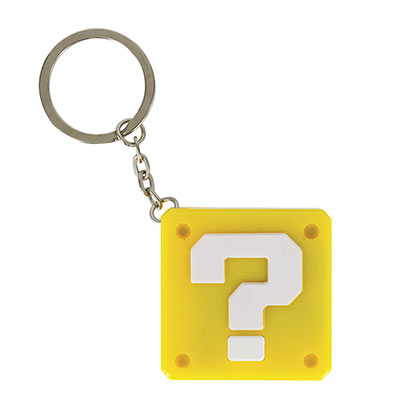 Super MARIO Bros. Question Block Sound Keychain