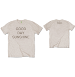 The Beatles Men's Tee: Good Day Sunshine (Back Print)