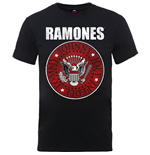 Ramones Men's Tee: Red Fill Seal