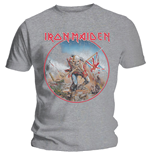 Iron Maiden Men's Tee: Trooper Vintage Circle