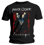 Alice Cooper Men's Tee: Paranormal Splatter