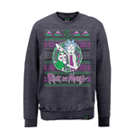 Rick And Morty X Absolute Cult Sweatshirt Christmas Portal