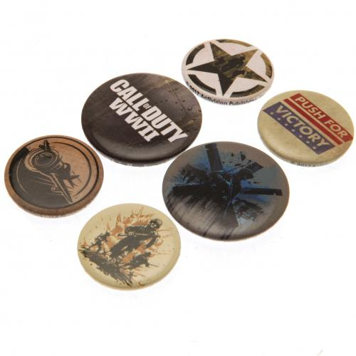 Call Of Duty Button Badge Set