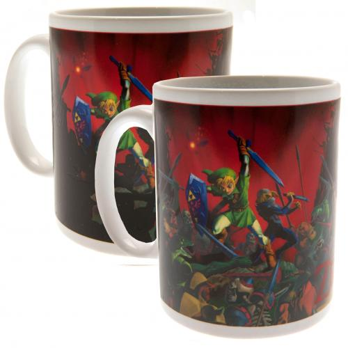 The Legend Of Zelda Heat Changing Mug