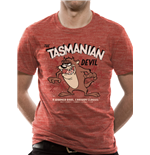 Looney Tunes - Tasmanian Devil - Unisex T-shirt Red
