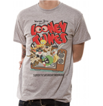 Looney Tunes - Retro Tv - Unisex T-shirt Grey