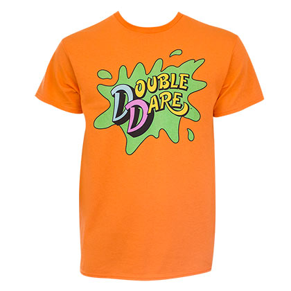 NICKELODEON Double Dare Orange Tee Shirt