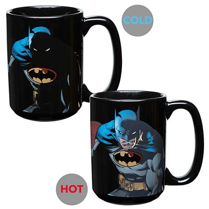 BATMAN Color Changing Coffee Mug