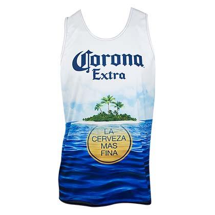 Corona Extra Halter Top Navy Ladies Tank Top Dress Blue