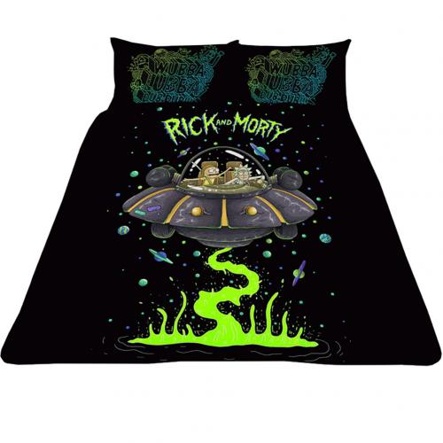 Rick And Morty Double Duvet Set