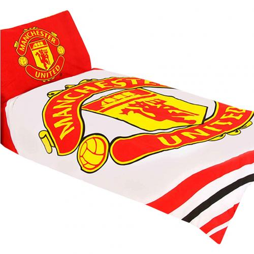 Manchester United F.C. Single Duvet Set PL