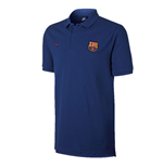 2017-2018 Barcelona Nike Core Polo Shirt (Obsidian)