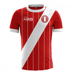 2017-2018 Peru Away Concept Football Shirt (Kids)