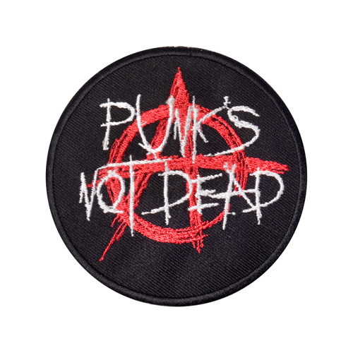 Mode Wichtig Patch  Punks Not Dead