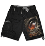 Dragon Eye - Vintage Cargo Shorts Black