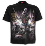 Zombie Backbeat - T-Shirt Black