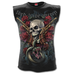 Lord Have Mercy - Sleeveless T-Shirt Black