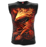 Phoenix Arisen - Sleeveless T-Shirt Black